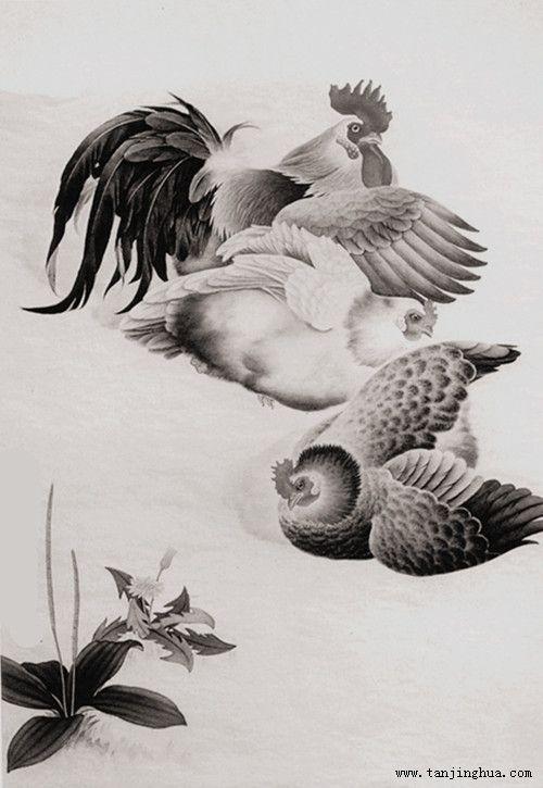 《鸡年吉祥》(作者:张智华)